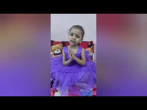 Jain nomokar mantra sloke by 4 years lil
