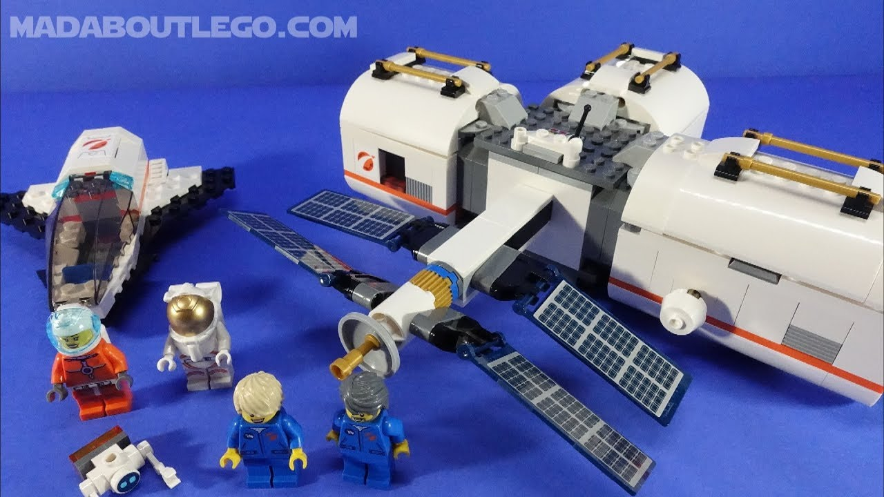 lego city lunar space station amazon - photo #20