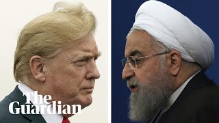 From youtube.com: Donald Trump tweets warning for Iran's leader The US president, Donald Trump, has tweeted an angry warning to his Iranian counterpart, Hassan Rouhani. In his tweet, Trump told Rouhani to 'never, ever'
