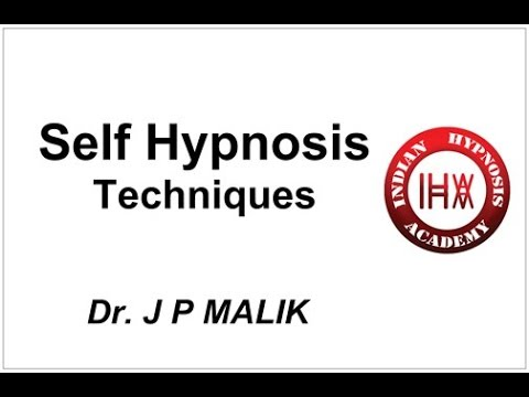 Self Hypnosis - 4 Easy Techniques (Hindi)