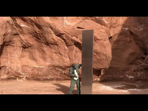 Artist or aliens? Mystery surrounds Utah monolith's appearance and ...