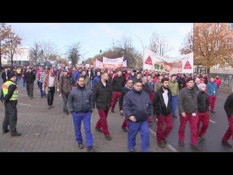 Thema des Tages - Siemens-Mitarbeiter demonstrieren gegen Stellenstreichung