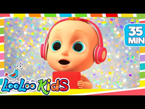 Thumbnail: Rain, Rain Go Away - THE BEST Nursery Rhymes and Songs for Children | LooLoo Kids