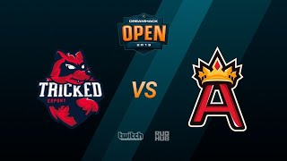 Tricked vs Aristocracy DreamHack Open Summer 2019 bo1 de train PCH3LK1N & TheCraggy