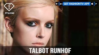 Paris Fashion Week Fall/WItner 2017-18 - Talbot Runhof Make up | FTV.com