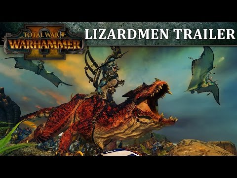 Total War: WARHAMMER 2 – Lizardmen In-Engine Trailer