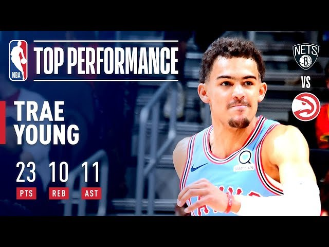 Trae Young Puts Up His First Career Triple-Double vs Brooklyn! | March 9, 2019