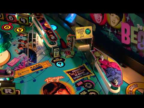 Big Rig - Beatles Pinball Machine & Other Great Rock-n-Roll Gifts