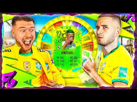 FIFA 21: VINICIUS JR PATH TO GLORY Discard Roulette 🔥🔥