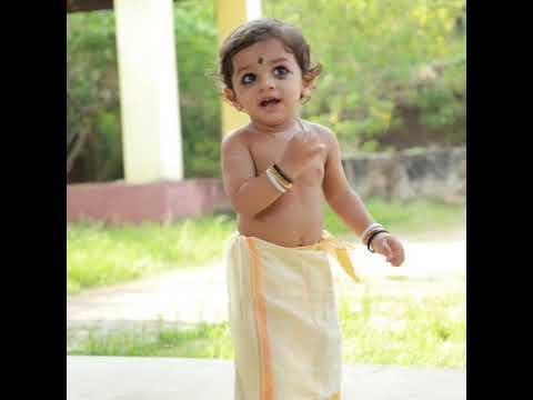 Thithai thithai nritham vekkum .....Aju'z 1st birthday clickss