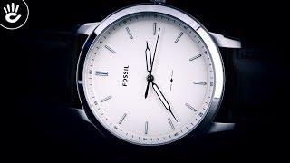 Review đồng hồ Fossil FS5439 phiên bản trẻ trung thanh lịch mẫu dây da trơn nâu