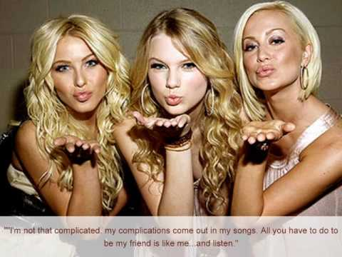 Taylor Swift Quotes ( Your face w/ lyrics)