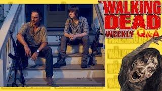 Walking Dead Q&A #59 Rick losing Hand, Negan, Negan Again and More!