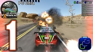 Gas Guzzlers Extreme PC ULTRA Walkthrough - Gameplay Part 1 - Fenderbender Cup