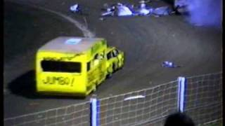 Trailer  Demolition Derby New Zealand 1992.