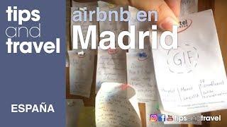 Nos quedamos en un Airbnb en Madrid ESPAÑA