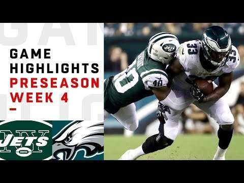 Jets vs. Eagles Highlights | NFL 2018 Preseason Week 4
