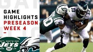 Jets vs. Eagles Highlights | NFL 2018 Preseason Week 4