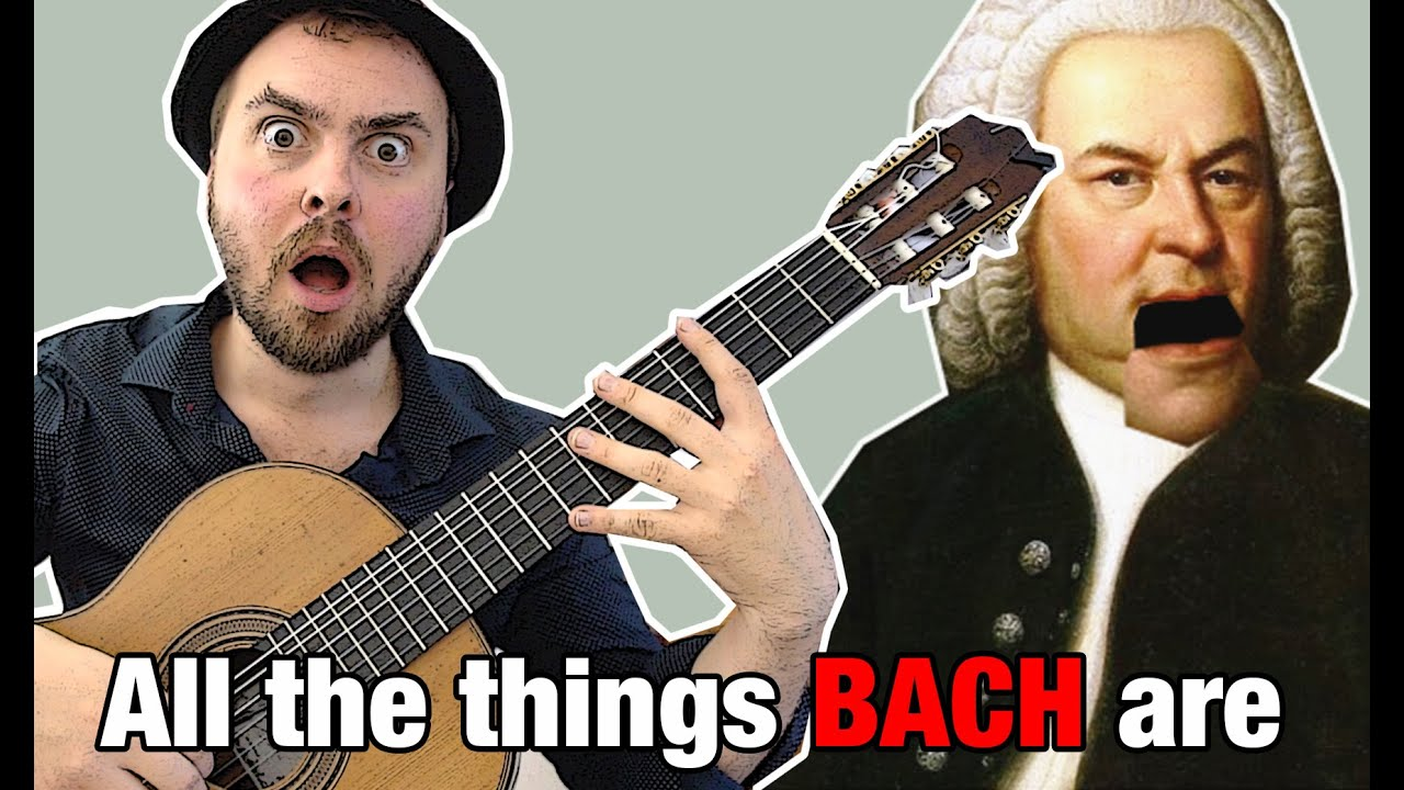 """All the things you are"" - BUT IT'S BACH"