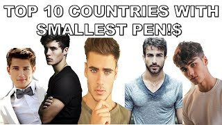 Top 10 Countries with Smallest Penis Sizes