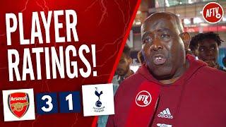 Arsenal 3-1 Tottenham | Player Ratings