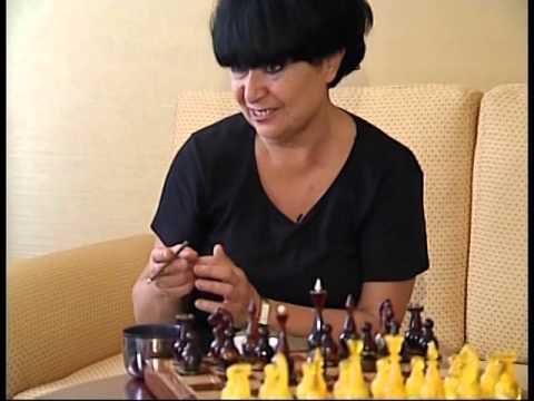 chadrakis dafa   liana isakadze ჭადრაკის დაფა თათია პაჭკორიასთან ერთად