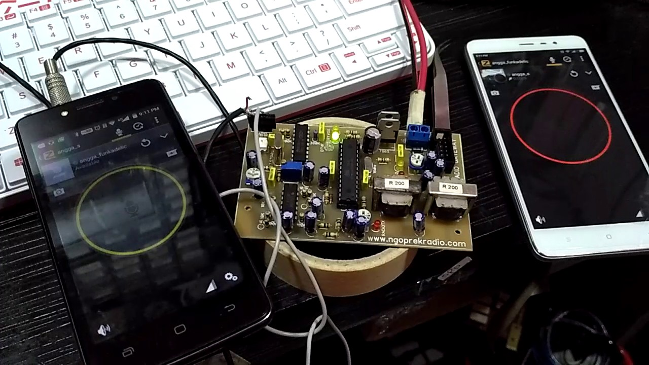 zello android radio gateway prototype ptt switching test. Black Bedroom Furniture Sets. Home Design Ideas