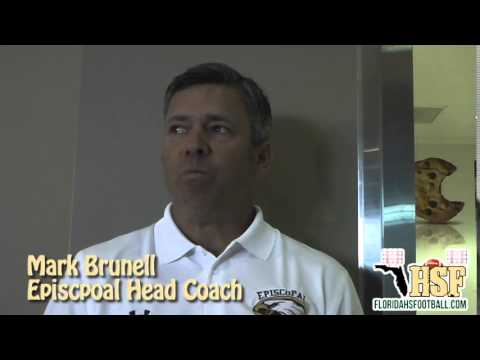 2014 MEDIA DAYS: Episcopal Head Coach Mark Brunell