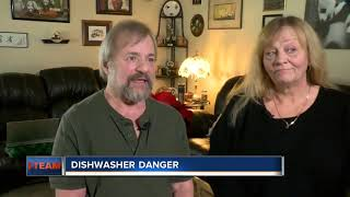 Wisconsin couple's recalled dishwasher catches fire