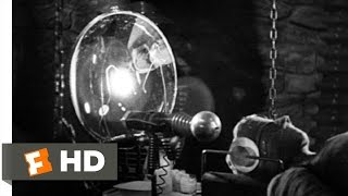 Bride of Frankenstein (8/10) Movie CLIP - Henry Tries to Give the Creature Life (1935) HD
