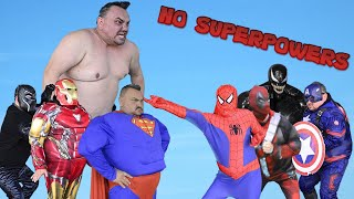 Superheroes Without Superpowers