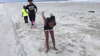 CuCo Track Club- Beach Training Plyometric Strength Building for kids