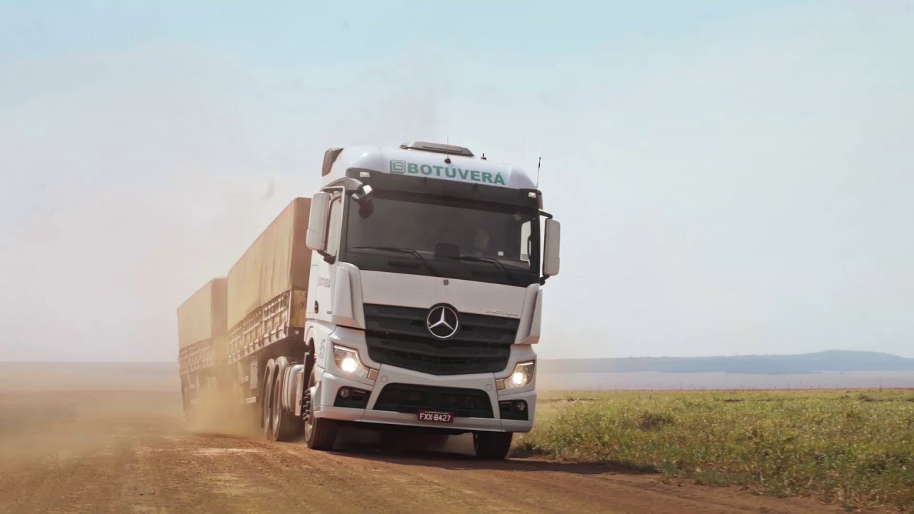 Mercedes-Benz Caminhões   Novo Actros: Transportes Botuverá