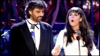 Gambar cover Sarah Brightman & Andrea Bocelli - Time to Say Goodbye (1997) [720p]