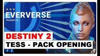 Destiny 2 - (SPOILER) Tess Everis 50€ Pack Opening | Exotischer Sparrow - Exotisches Schiff