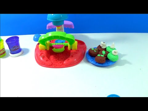 PLAY DOH Plus Flip N' Frost Cookies Cakes Playdough Sweet Shoppe Bakery Toy Galleta Plastilina