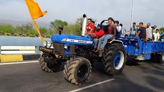 FORD NEWHOLLAND 3630 +FARMTRAC 60 MODIFIED ROAD RACE FULL VIDEO