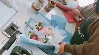 Уроки по упаковке букетов