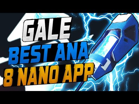 GALE ANA - NANO BOOST MASTER! 8 NANO BOOSTS APP! [ OVERWATCH SEASON 9 TOP 500 ]