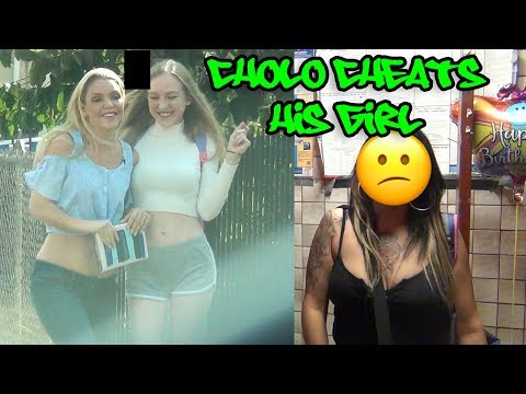 Cholo Cheats On His Girlfriend With Two White Women!   To Catch A Cheater