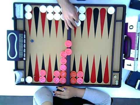 3rd BMAB(IR) Backgammon Ranking Tournament, Soroush Asadi vs Bahareh Talaei