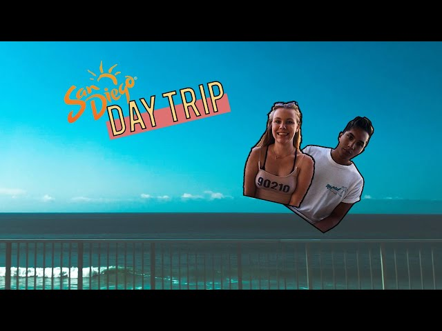 San Diego day trip // norsk vlog
