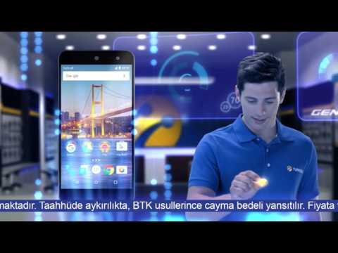 General Mobile Android 6.0 Turkcell TV Reklamı