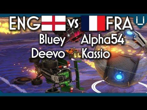England vs France | Rocket League 2v2 thumbnail