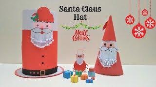 Download Handmade Christmas Paper Cap Diy Santa Claus Cap