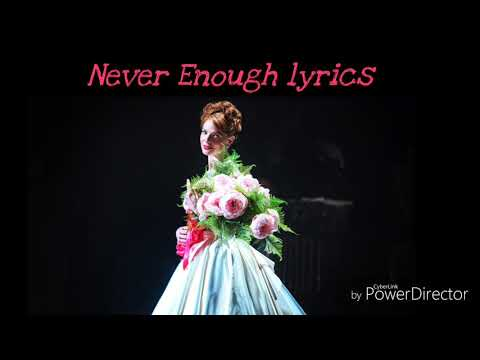 """""""Never Enough"""" (from """" The Greatest Showman"""" Soundtrack)"""