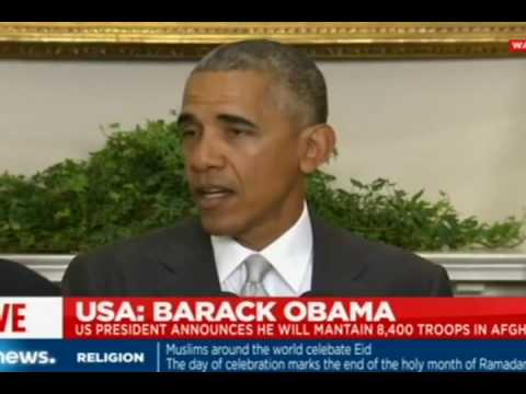 President Obama's Statement on Afghanistan at Warsaw