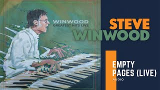 Watch Steve Winwood Empty Pages video