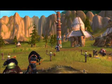 20 minutes Tauren Music - Camp Narache - In game - World of Warcraft