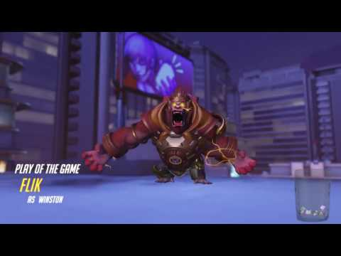 """Overwatch - Trying Out """"""""""""Buffed"""""""""""" Winston"""